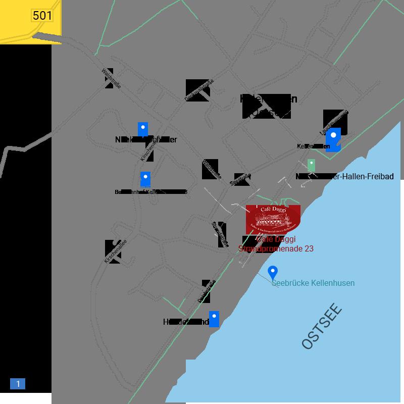 Café Daggi Karte Anfahrt