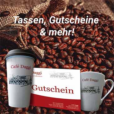 Café Daggi Gutscheine und Souvenirs
